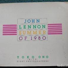 Catálogos de Música: LIBRO JOHN LENNON SUMMER OF 1980 111 PÁGINAS REPLETO DE FOTOGRAFÍAS BEATLES VER FOTOS ADICIONALES. Lote 62119052