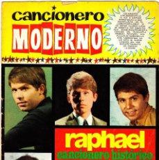 Catálogos de Música: CANCIONERO MODERNO.RAPHAEL.EDICIONES ESTE.1971.. Lote 66001466