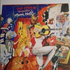 Catálogos de Música: 100 AÑOS DE CANCION Y MUSIC HALL. 1 TOMO CON ESTUCHE Y 2 VINILOS. DIFUSORA INTERNACIONAL. 1974. PROL. Lote 66812462