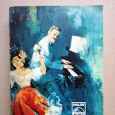 Catálogos de Música: CATALOGO GENERAL AÑO 1962, DISCOS PHILIPS, FONTANA, ROULETTE. MIDE 21 X 14 CMS. 388 PAG.. Lote 67310025