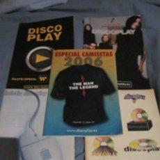 Cataloghi di Musica: BOLETIN DISCOPLAY - LOTE DE 5 EJEMPLARES.. Lote 67682473