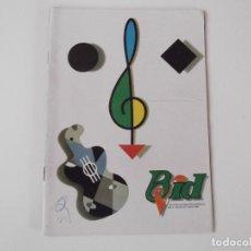 Catálogos de Música: BOLETIN INFORMATIVO DISCOPLAY BID Nº 45 ENERO 1988. Lote 68308557