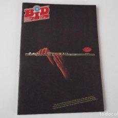 Catálogos de Música: BOLETIN INFORMATIVO DISCOPLAY BID Nº 51 JULIO 1988. Lote 68312985