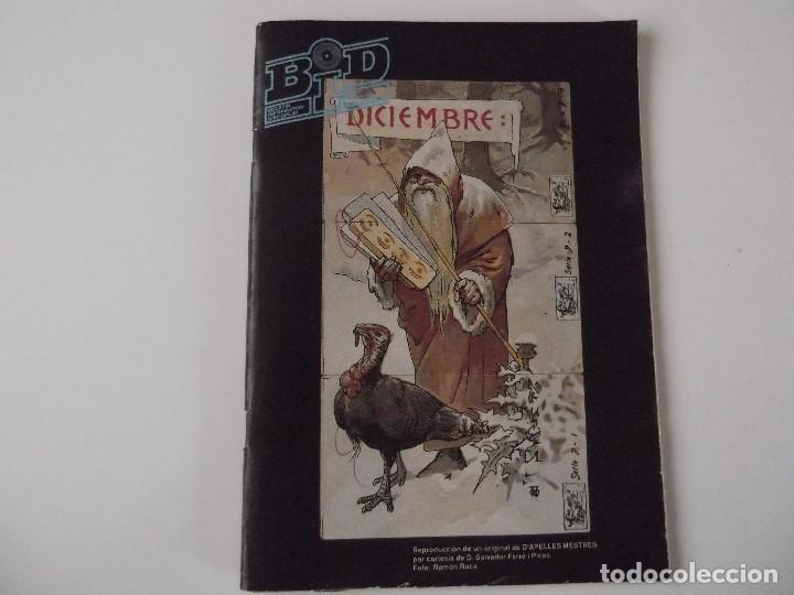 BOLETIN INFORMATIVO DISCOPLAY BID Nº 56 DICIEMBRE 1988 (Música - Catálogos de Música, Libros y Cancioneros)