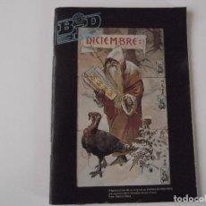 Catálogos de Música: BOLETIN INFORMATIVO DISCOPLAY BID Nº 56 DICIEMBRE 1988. Lote 68314781