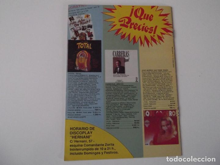 Catálogos de Música: BOLETIN INFORMATIVO DISCOPLAY BID Nº 60 Mayo 1989 - Foto 2 - 68319985