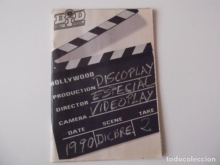 BOLETIN INFORMATIVO DISCOPLAY BID ESP. DICIEMBRE 1990 (Música - Catálogos de Música, Libros y Cancioneros)