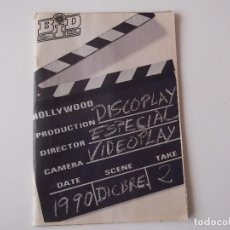 Catálogos de Música: BOLETIN INFORMATIVO DISCOPLAY BID ESP. DICIEMBRE 1990. Lote 68393469