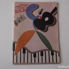 Catálogos de Música: BOLETIN INFORMATIVO DISCOPLAY BID Nº 88 AGOSTO 1991. Lote 68399909