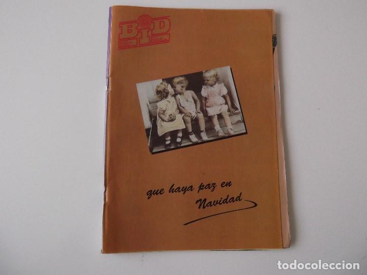 BOLETIN INFORMATIVO DISCOPLAY BID Nº 92 DICIEMBRE 1991 (Música - Catálogos de Música, Libros y Cancioneros)