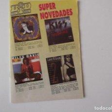Catálogos de Música: BOLETIN INFORMATIVO DISCOPLAY BID Nº 103 SUPLEMENTO AGOSTO 1992. Lote 68406889