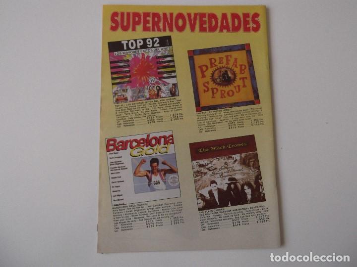 Catálogos de Música: BOLETIN INFORMATIVO DISCOPLAY BID Nº 103 SUPLEMENTO Agosto 1992 - Foto 2 - 68406889