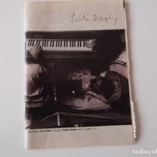 Catálogos de Música: BOLETIN INFORMATIVO DISCOPLAY BID Nº 212 OCTUBRE 2001. Lote 68408517