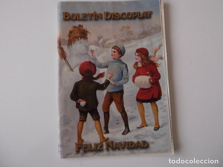 BOLETIN INFORMATIVO DISCOPLAY BID Nº 214 DICIEMBRE 2001 (Música - Catálogos de Música, Libros y Cancioneros)