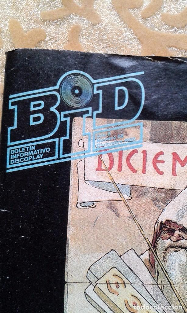 BID BOLETIN INFORMATIVO DISCOPLAY Nº56 DICIEMBRE 1988 (Música - Catálogos de Música, Libros y Cancioneros)