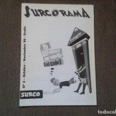 Musikkataloge - SURCORAMA nº 5 -- Noviembre 96 -- Catálogo con los Sellos discográficos independientes del momento - - 68826877
