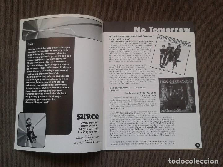 Catálogos de Música: SURCORAMA nº 5 -- Noviembre 96 -- Catálogo con los Sellos discográficos independientes del momento - - Foto 2 - 68826877