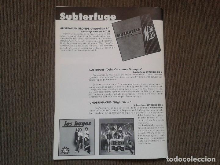 Catálogos de Música: SURCORAMA nº 5 -- Noviembre 96 -- Catálogo con los Sellos discográficos independientes del momento - - Foto 6 - 68826877