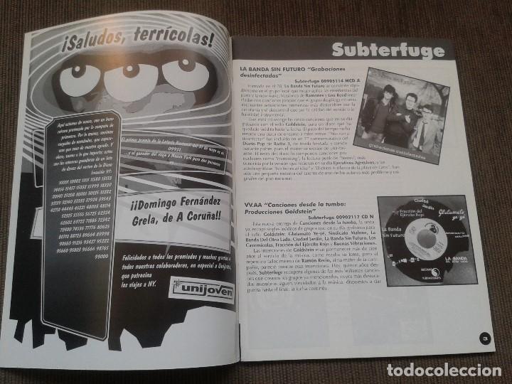 Catálogos de Música: SURCORAMA nº 6 y 7 - Jun. y Jul. 96 - Catálogo con Sellos discográf. independientes del momento - Foto 2 - 68827269