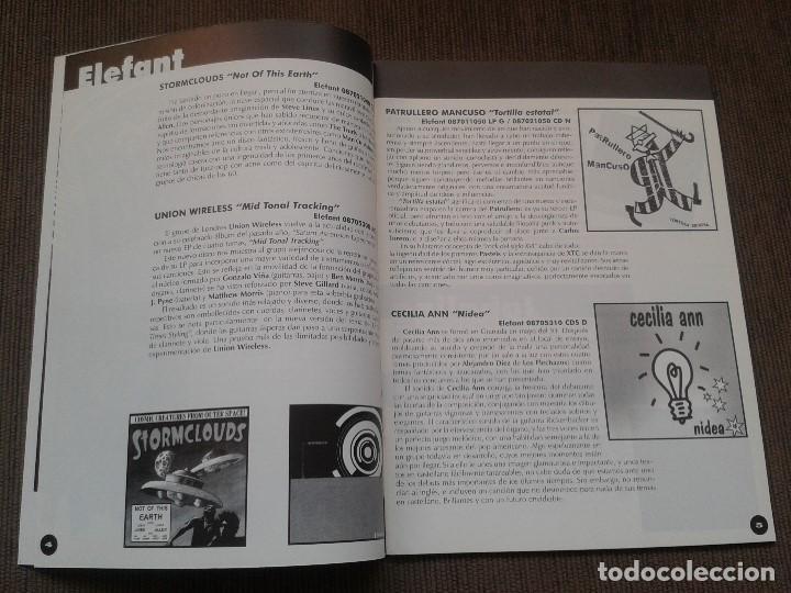 Catálogos de Música: SURCORAMA nº 6 y 7 - Jun. y Jul. 96 - Catálogo con Sellos discográf. independientes del momento - Foto 3 - 68827269