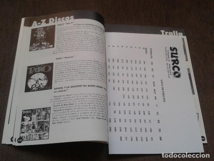 Catálogos de Música: SURCORAMA nº 6 y 7 - Jun. y Jul. 96 - Catálogo con Sellos discográf. independientes del momento - Foto 4 - 68827269