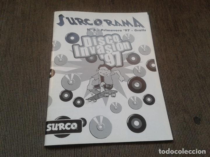 Catálogos de Música: SURCORAMA nº 6 y 7 - Jun. y Jul. 96 - Catálogo con Sellos discográf. independientes del momento - Foto 6 - 68827269