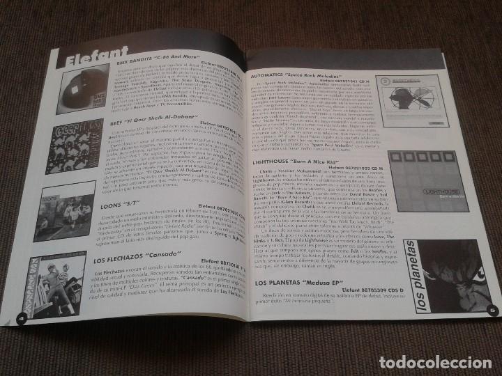 Catálogos de Música: SURCORAMA nº 6 y 7 - Jun. y Jul. 96 - Catálogo con Sellos discográf. independientes del momento - Foto 7 - 68827269