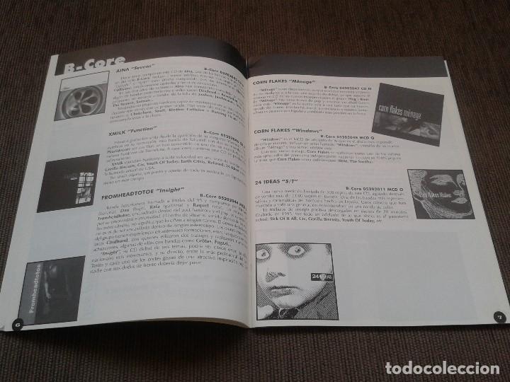 Catálogos de Música: SURCORAMA nº 6 y 7 - Jun. y Jul. 96 - Catálogo con Sellos discográf. independientes del momento - Foto 8 - 68827269