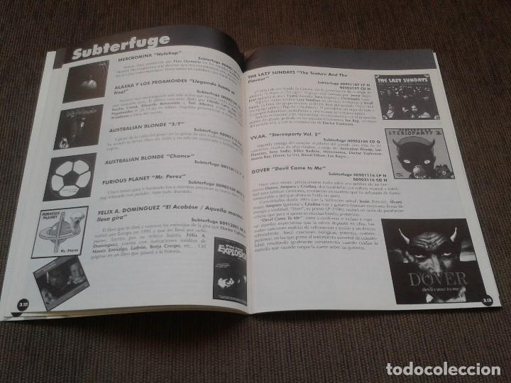 Catálogos de Música: SURCORAMA nº 6 y 7 - Jun. y Jul. 96 - Catálogo con Sellos discográf. independientes del momento - Foto 9 - 68827269