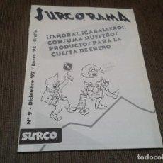Catálogos de Música - SURCORAMA nº 9 - Dic. 97 y En. 98 - Catálogo con Sellos discográficos independientes del momento - 68827537