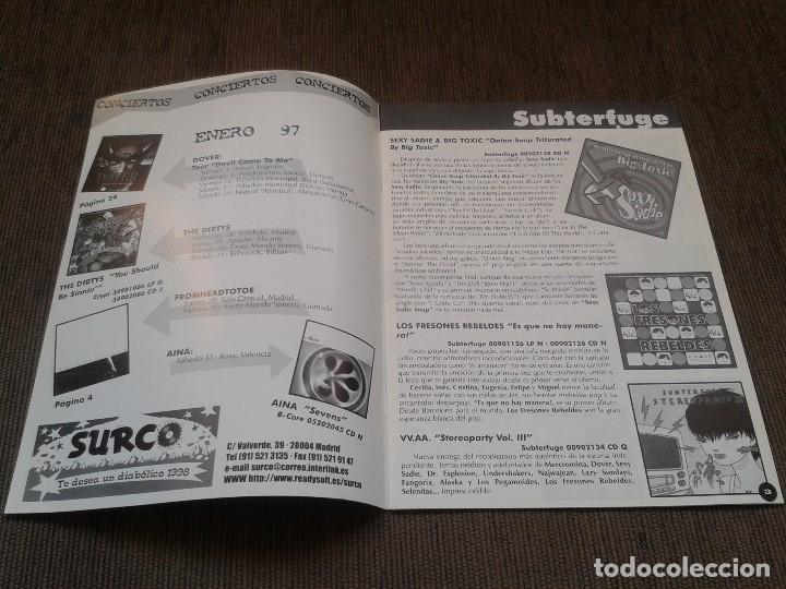 Catálogos de Música: SURCORAMA nº 9 - Dic. 97 y En. 98 - Catálogo con Sellos discográficos independientes del momento - Foto 2 - 68827537