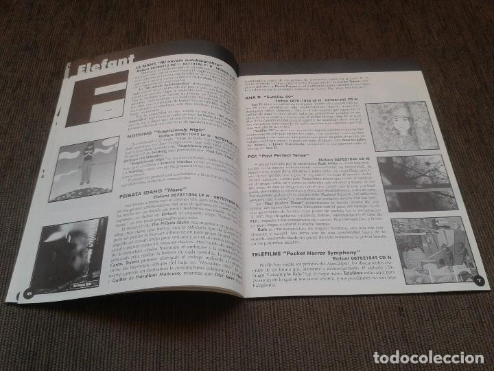 Catálogos de Música: SURCORAMA nº 9 - Dic. 97 y En. 98 - Catálogo con Sellos discográficos independientes del momento - Foto 3 - 68827537