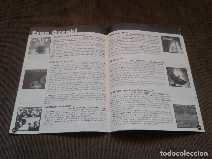 Catálogos de Música: SURCORAMA nº 9 - Dic. 97 y En. 98 - Catálogo con Sellos discográficos independientes del momento - Foto 4 - 68827537