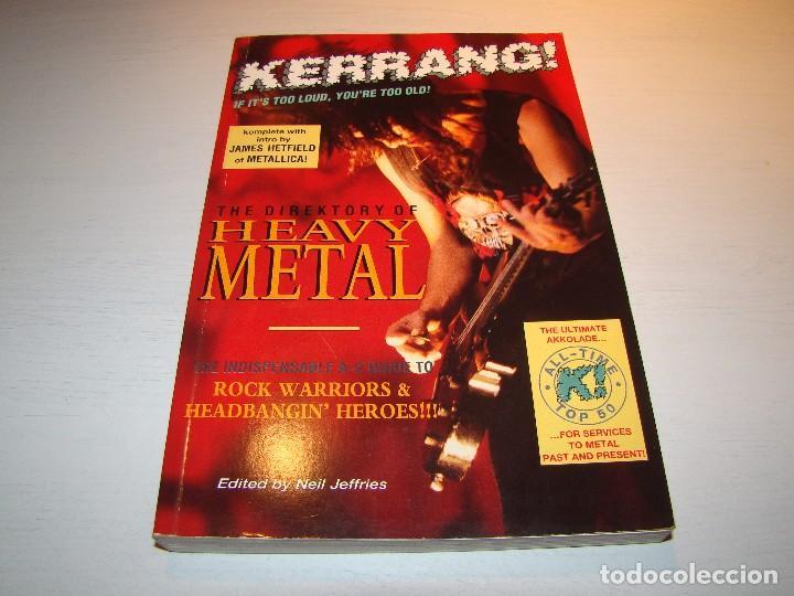 KERRANG - DIRECTORIO DEL HEAVY METAL (Música - Catálogos de Música, Libros y Cancioneros)