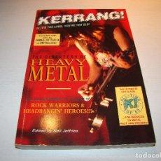 Catálogos de Música: KERRANG - DIRECTORIO DEL HEAVY METAL. Lote 69429361