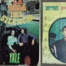 Catálogos de Música: RAPHAEL Y NATALIA LA BODA DEL SILENCIO (YALE)+ CANCIONERO HITS PRES (TAMAÑO PEQUEÑO). Lote 70325207