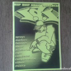 Catálogos de Música: CATÁLOGO HIP HOP, RAP -- S.A.S. HIP HOP VALENCIA -- AÑOS 90 --. Lote 71194261