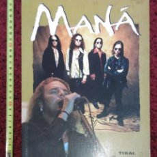 Catálogos de Música: LIBRO GRUPO MANA - TIKAL EDICIONES - 64 PAGINAS A TODO COLOR. Lote 80050451