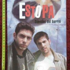 Catálogos de Música: LIBRO ESTOPA (DUENDES DEL BARRIO) - TIKAL EDICIONES - 48 PAGINAS A TODO COLOR. Lote 73321939