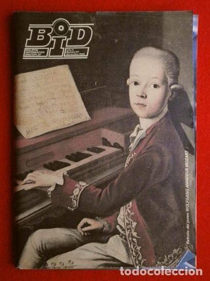 BID Nº 67 - BOLETIN INFORMATIVO DISCOPLAY - DICIEMBRE 1989 (ESPECIAL NAVIDAD) -U2 -CATALOGO MUSICA (Música - Catálogos de Música, Libros y Cancioneros)