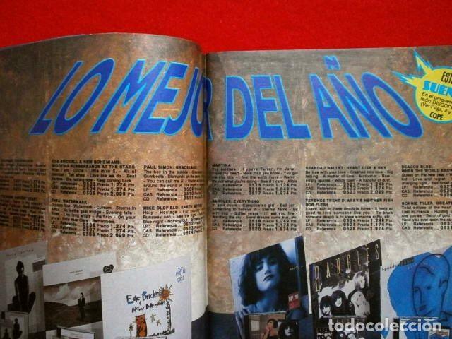 Catálogos de Música: BID nº 67 - Boletin Informativo DISCOPLAY - Diciembre 1989 (especial navidad) -U2 -CATALOGO MUSICA - Foto 3 - 73471335