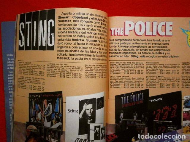 Catálogos de Música: BID nº 67 - Boletin Informativo DISCOPLAY - Diciembre 1989 (especial navidad) -U2 -CATALOGO MUSICA - Foto 4 - 73471335
