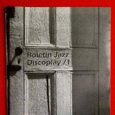 Catálogos de Música: BID - BOLETIN INFORMATIVO DISCOPLAY - ESPECIAL JAZZ - OCTUBRE 1998 - BLUE NOTE - CATALOGO DE JAZZ. Lote 73494639