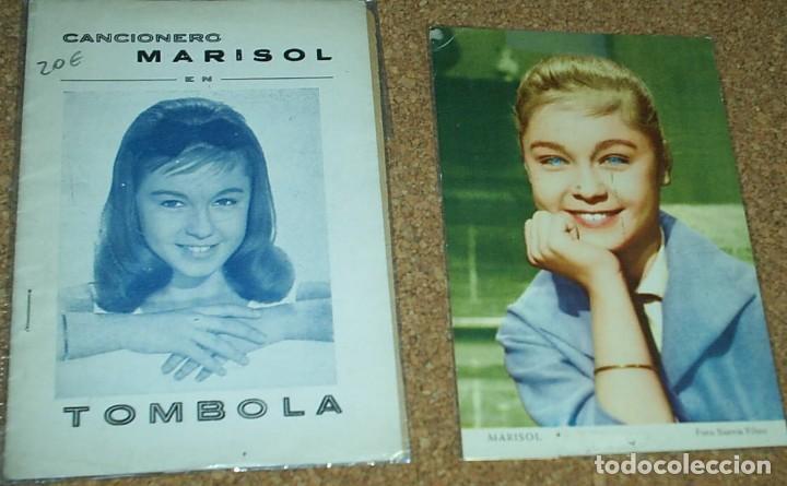 MARISOL TOMBOLA, CANCIONERO ORIGINAL 1962 LA POSTAL NO ES DE ESTE LOTE- LEER (Música - Catálogos de Música, Libros y Cancioneros)