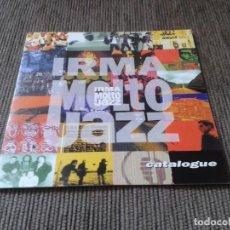 Catálogos de Música: CATÁLOGO SELLO DISCOGRÁFICO -- IRMA MOLTO JAZZ -- IRMA RECORDS, 1994 -- TRIPTICO TAMAÑO PORTADA CD . Lote 76856663