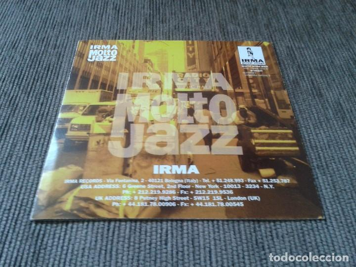 Catálogos de Música: Catálogo Sello discográfico -- IRMA MOLTO JAZZ -- Irma Records, 1994 -- Triptico tamaño portada CD - Foto 3 - 76856663