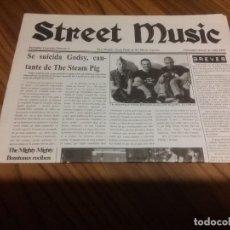 Catálogos de Música: STREET MUSIC 3. REVISTA DE MÚSICA. 12 PÁGINAS.. DICIEMBRE 98. FORMATO PERIÓDICO. RARO. Lote 77111037