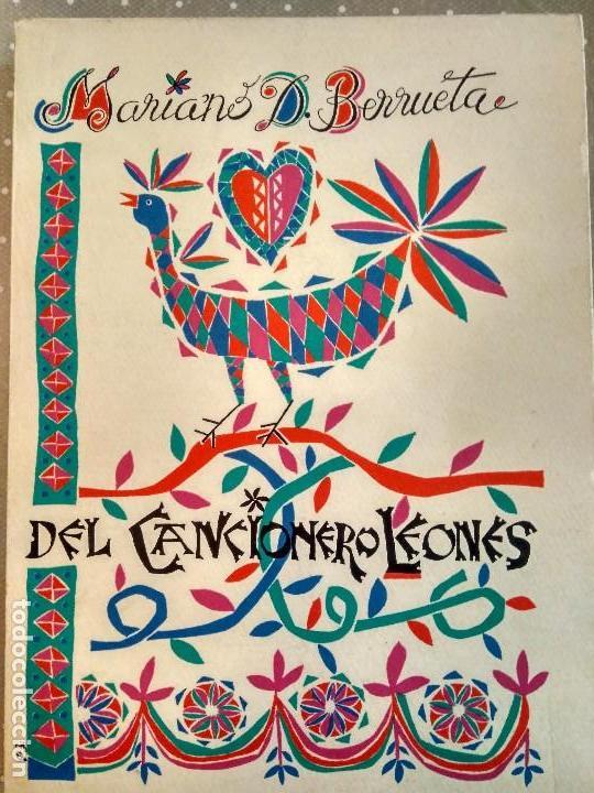DEL CANCIONERO LEONÉS - MARIANO D. BERRUETA - RECOPILACIÓN DE CANCIONES LEONESAS (Música - Catálogos de Música, Libros y Cancioneros)