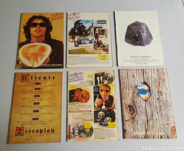 PACK BID BOLETÍN INFORMATIVO DISCOPLAY 6 EJEMPLARES (Música - Catálogos de Música, Libros y Cancioneros)