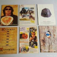 Catálogos de Música: PACK BID BOLETÍN INFORMATIVO DISCOPLAY 6 EJEMPLARES. Lote 78572725